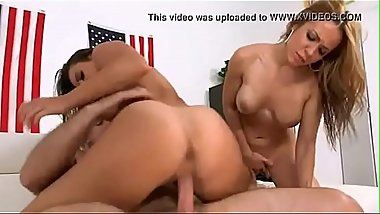 Beautiful two american big booty get fucked