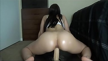 Dildo Ride For Sexy Bubble Butt Slut . Girl from GetSex.CF