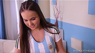 Innocent teenager Olivia Nice can'_t wait to get her tight pussy fucked deep