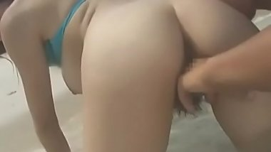 Real outdoors scenery of sloppy fucking and engulfing
