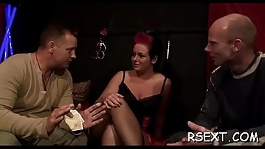Pretty hooker gets her sweet shaved wet crack licked and sucks