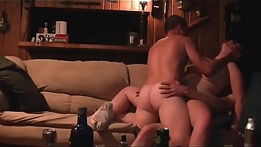 Threesome  Bisexual amateur