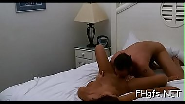 Horny girl with soaking wet bawdy cleft is in the mood for a fuck