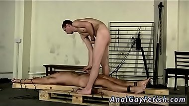 Male bondage military and nude males in vertical rack gay Made To