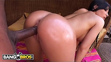 BANGBROS - Rico Strong Falls In Love With Spanish Babe Rebeca Linares On Monsters Of Cock!