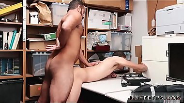 Gay man fucked by male negro cop first time 21 year old dark-hued