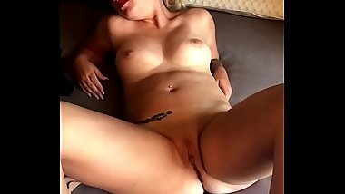 Wife Spreading Her Pussy For The Camera