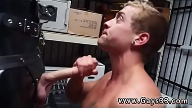 Straight guys go gay porn Dungeon sir with a gimp