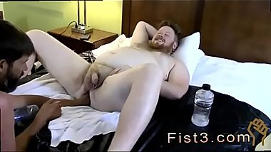 Public gay porn first time In inbetween fisting, they chat about how