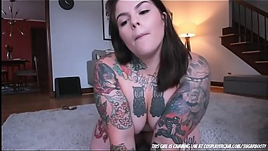 Tattoed BBW Looking For Daddy....