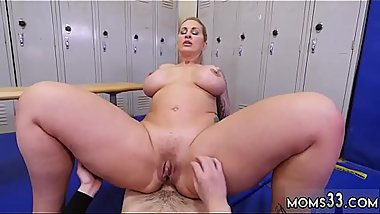 Big tits milf dildo webcam Dominant MILF Gets A Creampie After Anal