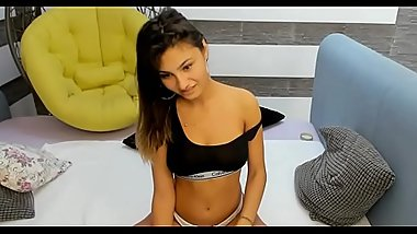 New Teen Cam-girl On Webcam