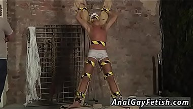Real young gay boys bondage first time Slave Boy Made To Squirt