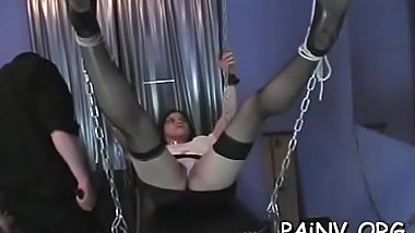 Juvenile slut mercylesly spanked in extreme humiliation mode