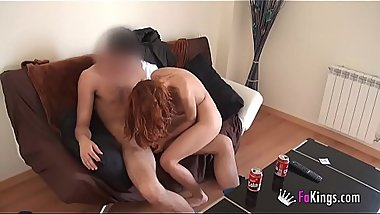 Lara the schoolgirl wants her pussy broken by a big dick