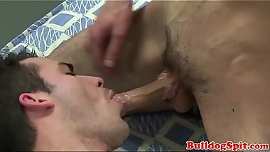 Rimmed punk assfucked after sucking