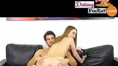 Hot model live sex show with a handsome guy ---- 100% free signup on www.DatingFucker.com