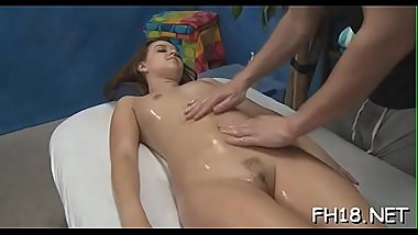 Beautiful all natural drilled by masseur