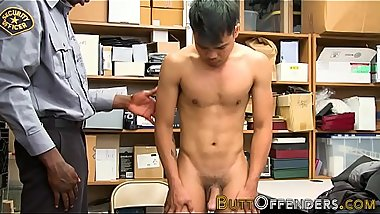 Teenage thief jizzed on