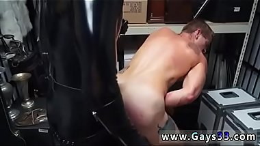Nude straight men gay sex video Dungeon sir with a gimp