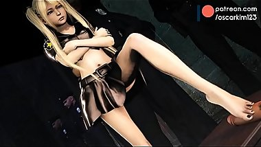 Dead or Alive Marie Rose Footjob Porn  hentai cartoon network