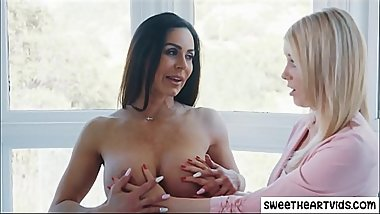 Personal assistant lesbian sex with Boss