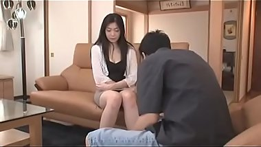 Beautiful japanese wife get fucked by a blackmailer at home - Pt.2 On HdMilfCam.com