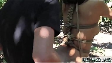 Fast and rough bondage Teen Jade Jantzen has been walking for awhile