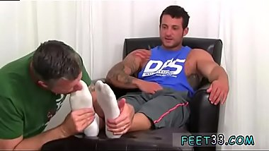 Teen boy small feet and lusty foot cum puppy gay Ned is such a sexy