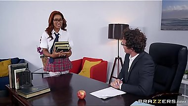 Banging The Bookworm Jenna Foxx &amp_ Robby Echo Big Tits at Work full video at http://bit.ly/brazzersfull