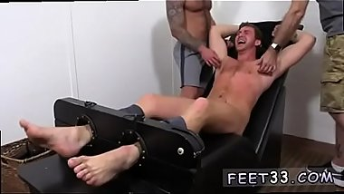 Emo boy foot fetish gay Connor Maguire Jerked &amp_ Tickle d