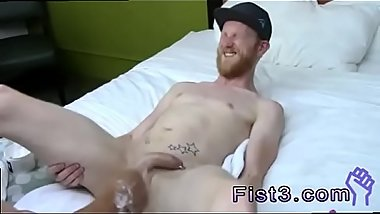 Gay man eat and fist pussy Fisting the beginner , Caleb