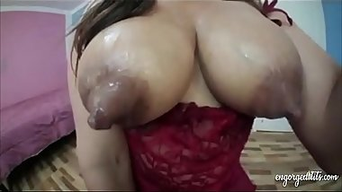 Huge nipples lactating latina Michelle
